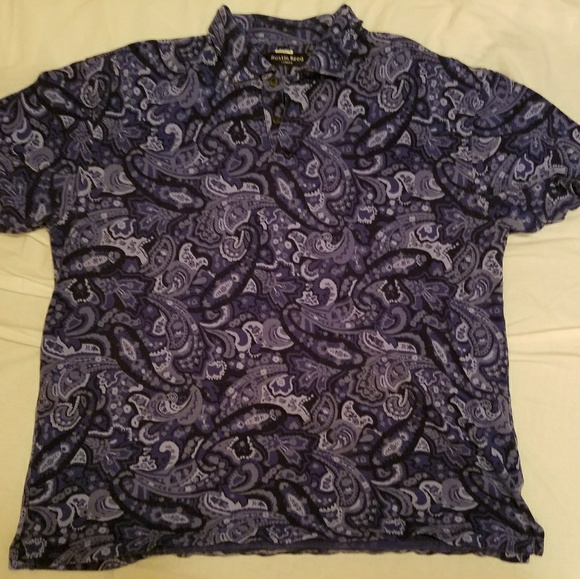 Austin Reed Shirts 9s Style Paisley Polo Poshmark